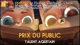 prix du public talent aquitain